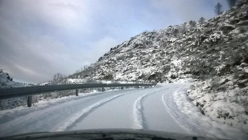 Neve em Covas, Vouzela (Victor Silva/EUVI)