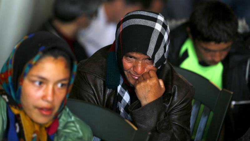 Campo de refugiados na Grécia. Das 131.724 pessoas que conseguiram atravessar o Mediterrâneo em 2016 a maioria chegou à costa grega