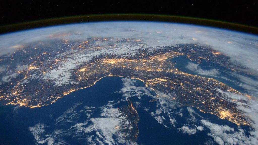 A vida na Estação Espacial Internacional