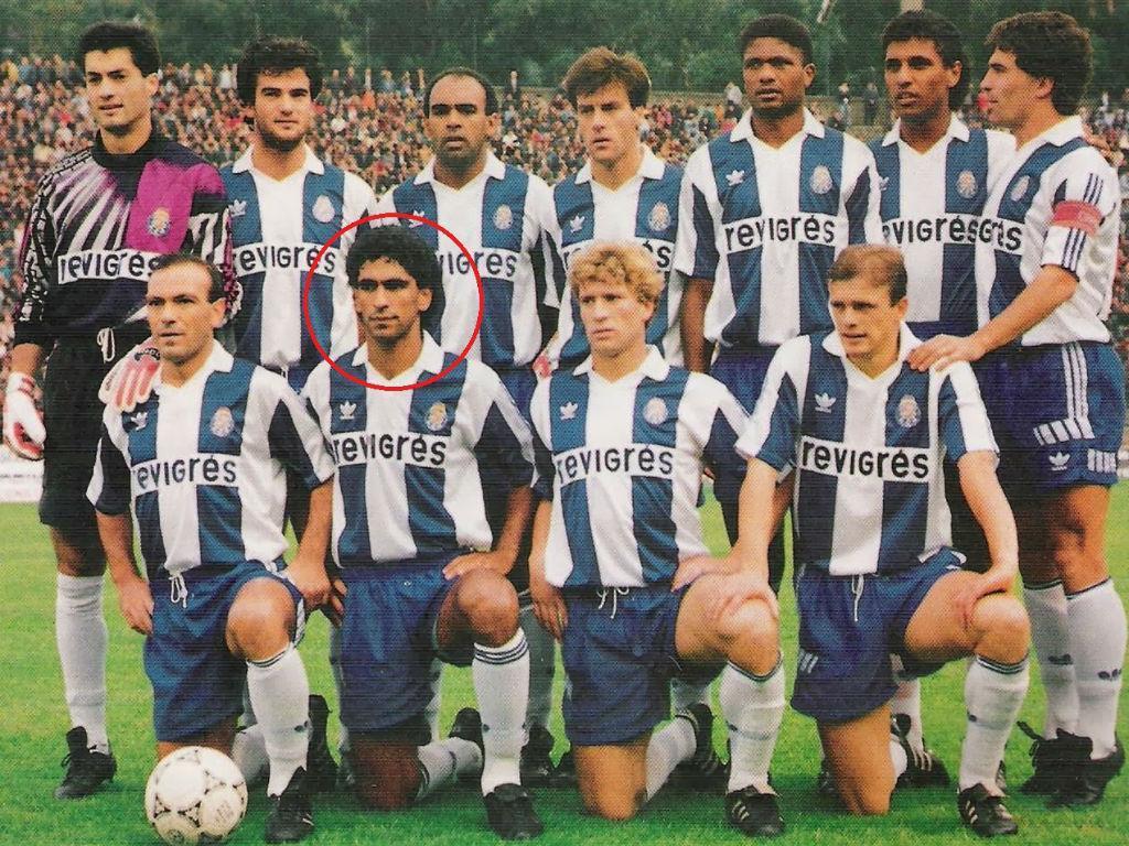 Jorge Andrade no FC Porto (Foto Facebook Jorge Andrade)