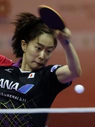 Mundiais de ténis de mesa jogam-se na Malásia (EPA)