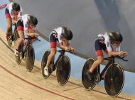 Mundiais de ciclismo de pista decorrem em Inglaterra (EPA)