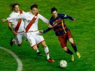 Rayo Vallecano vs Barcelona (EPA)