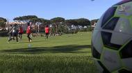 Portuguesas preparam jogo com o Brasil