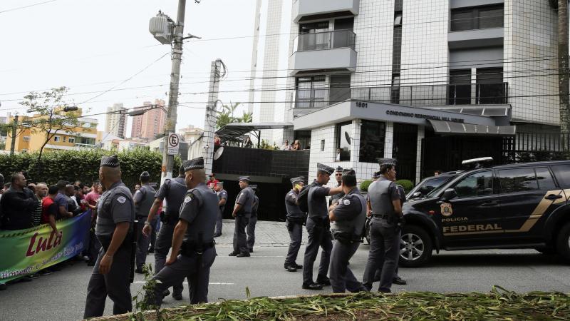 Polícia Federal faz operação em casa de Lula da Silva [Fonte: Lusa]