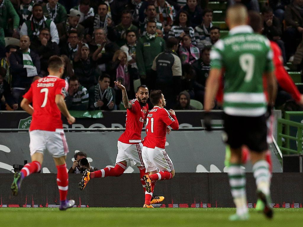 Sporting-Benfica (Lusa)