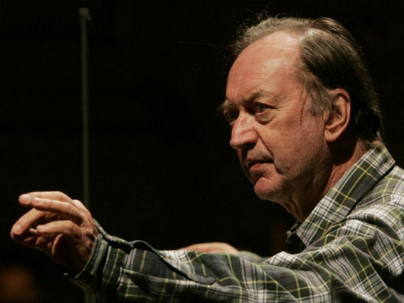 Maestro austríaco Nikolaus Harnoncourt