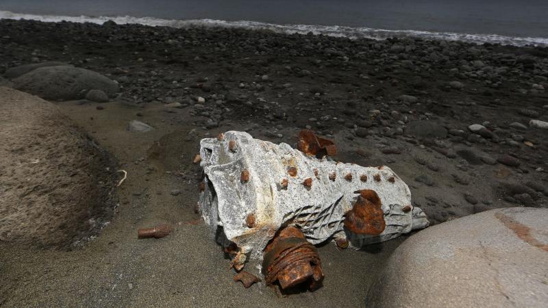 Destroços encontrados na ilha de Reunião