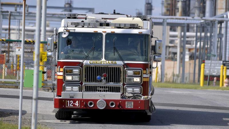 Carro de bombeiros norte-americano