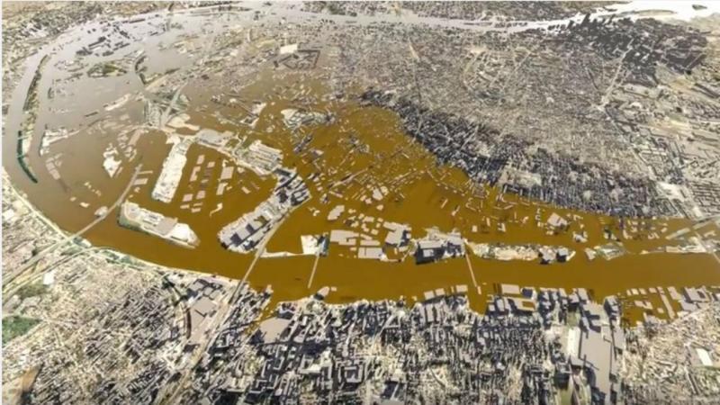 Paris realiza simulacro para inundações do Sena e do Marne