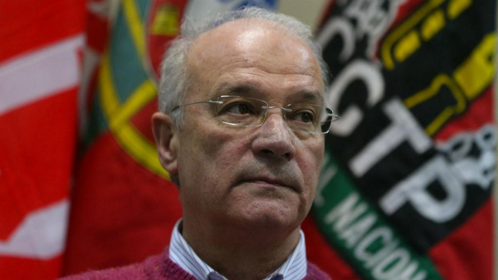 Arménio Carlos (Manuel de Almeida/Lusa)