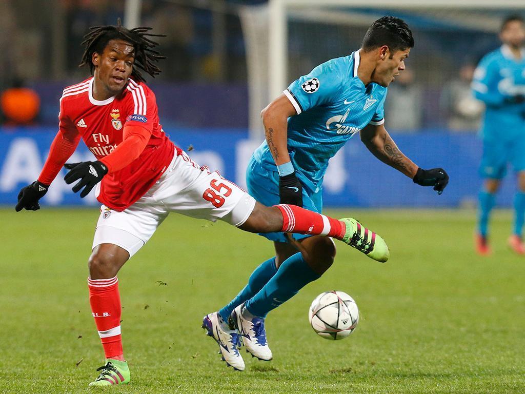 Zenit-Benfica (Reuters)