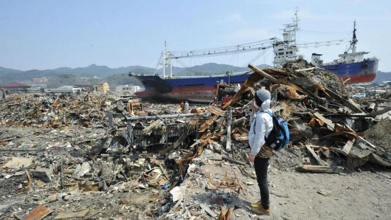 Memórias do sismo do Japão de 2011