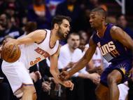 Phoenix Suns-New York Knicks (Reuters)