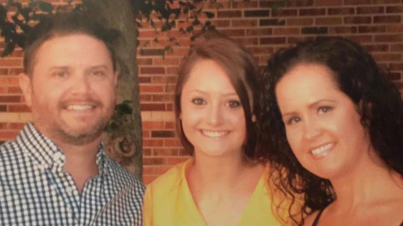 Misty Nicole Knight com Ryan e a mãe
