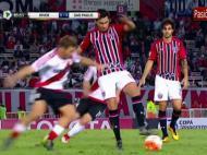 Vídeo River Plate-São Paulo