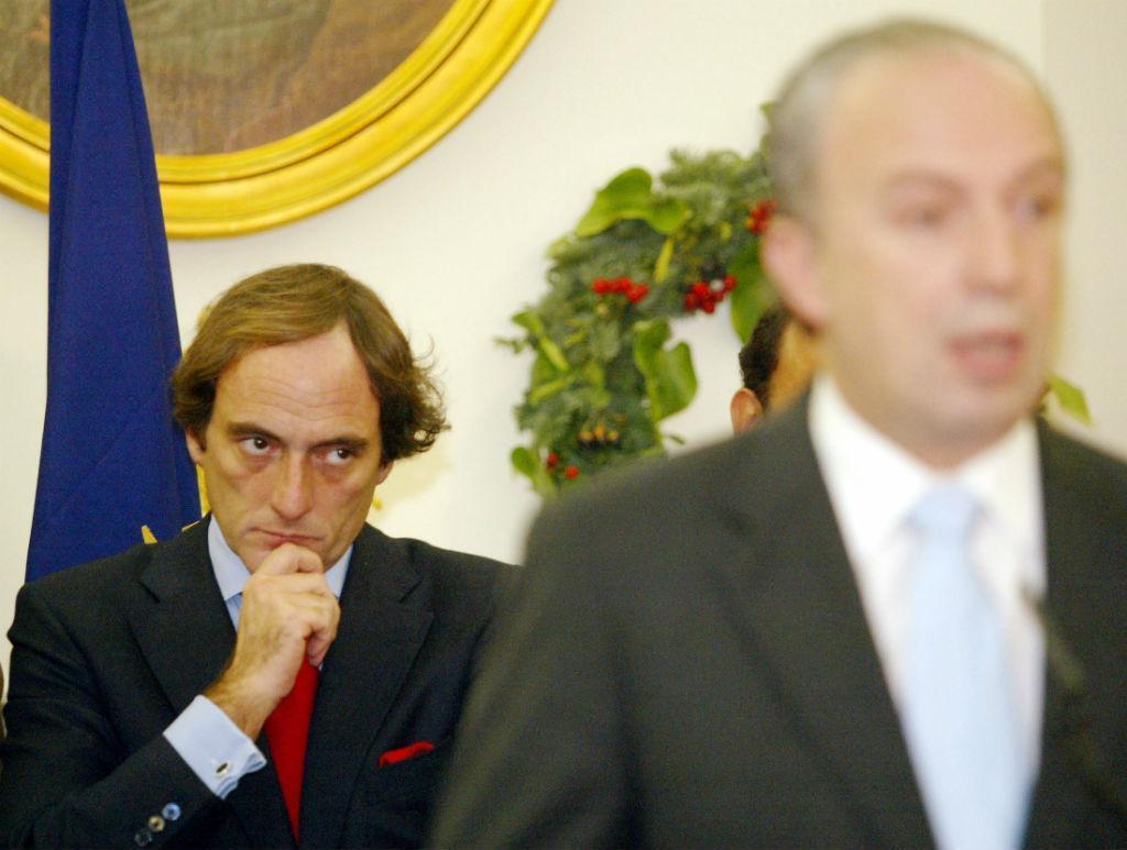 Paulo Portas e Santana Lopes