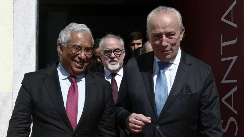 António Costa e Pedro Santana Lopes