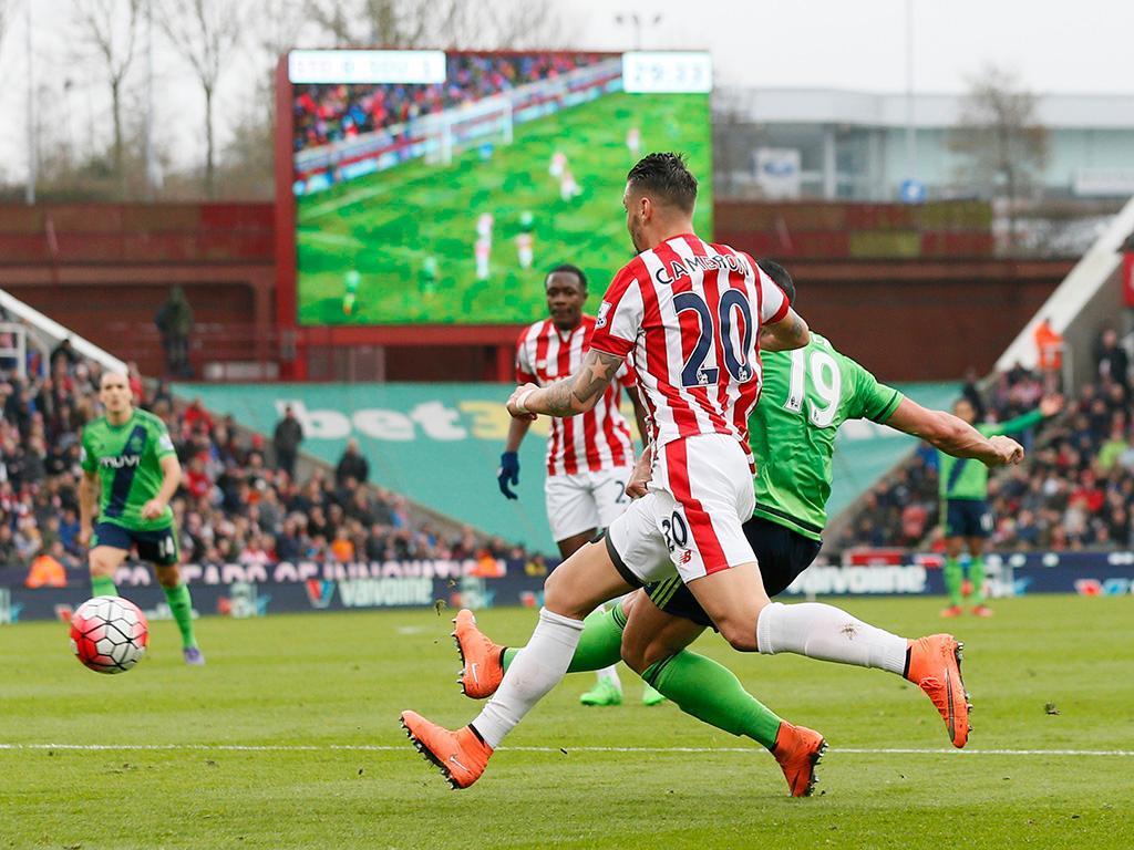 Stoke-Southampton (Reuters)