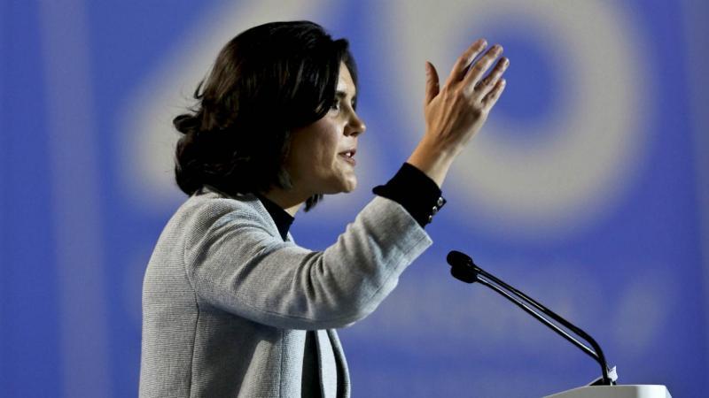 Assunção Cristas é a nova presidente do CDS-PP