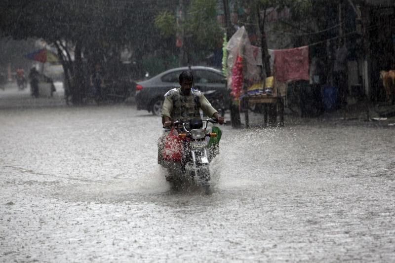 Chuvas torrenciais no Paquistão