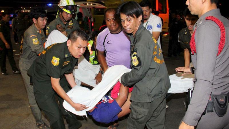 Oito pessoas morreram sufocadas num banco na Tailândia