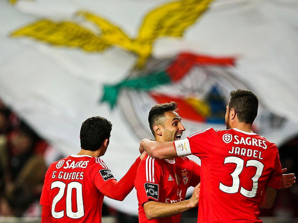 Benfica vs Tondela (LUSA)