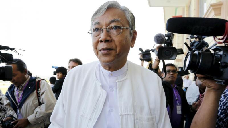 Htin Kyaw é o novo Presidente da Birmânia