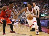 Toronto Raptors-Chicago Bulls (Reuters)