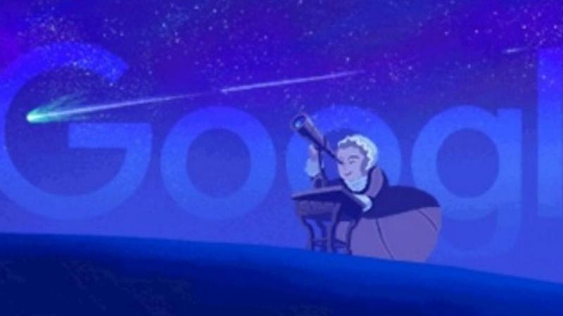 Google homenageia Caroline Herschel