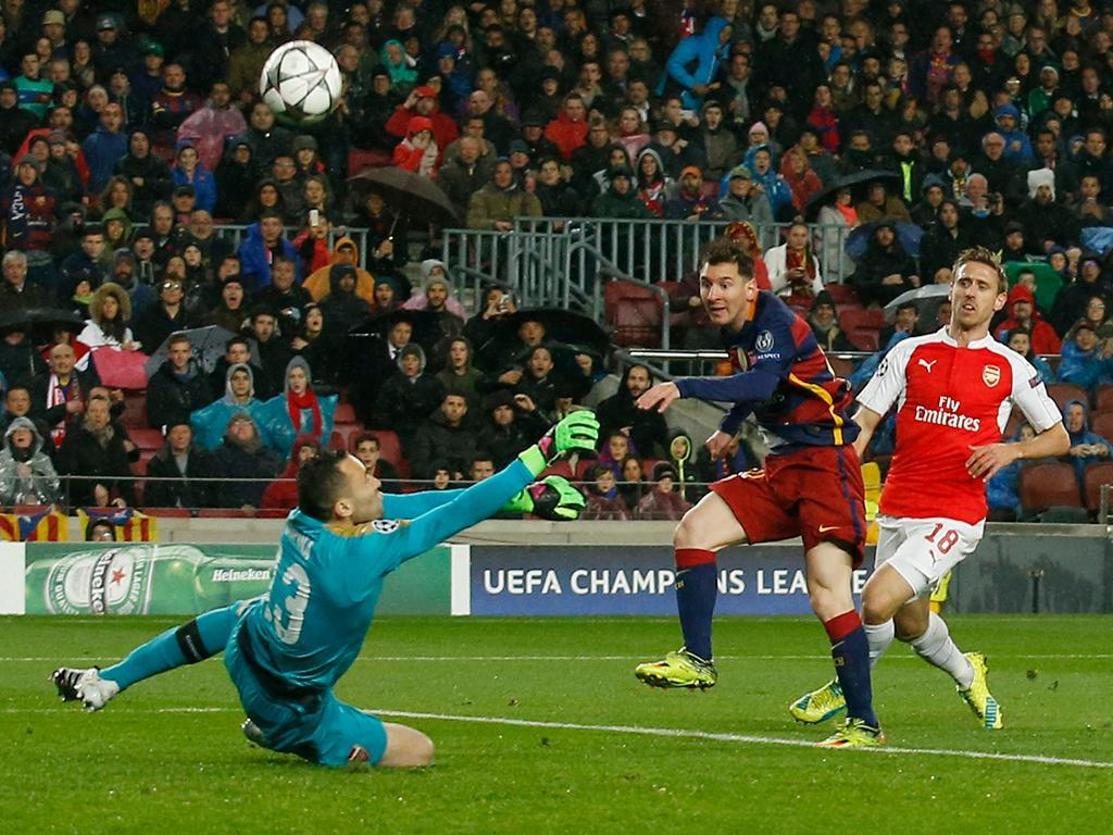 Barcelona-Arsenal (Reuters)
