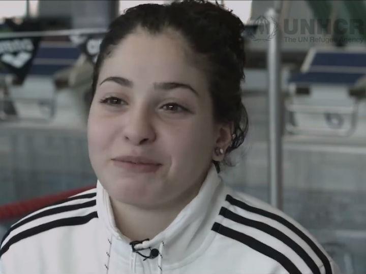 Yusra Mardini, refugiada síria