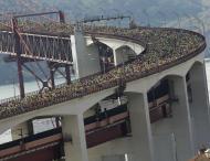 Cerca de 35 mil pessoas atravessam a Ponte 25 de Abril na 26ª edição da Meia-Maratona de Lisboa