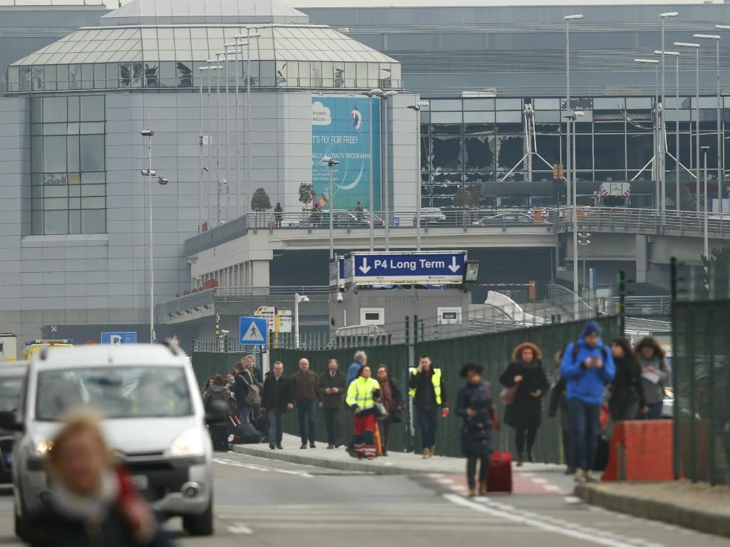 Explosões no aeroporto de Bruxelas