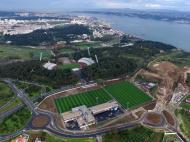Cidade do futebol (foto FPF)