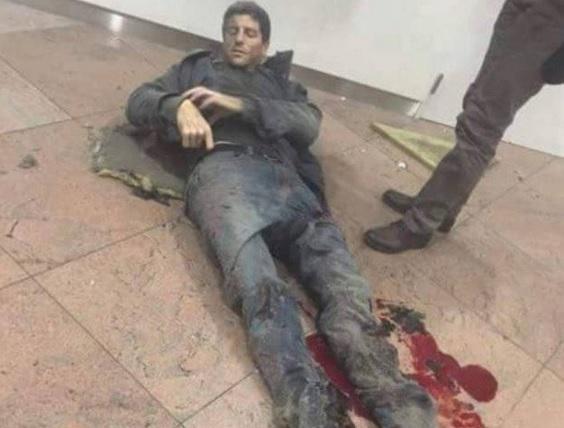 Sebastien Bellin, ex-basquetebolista internacional ferido no atentado ao aeroporto