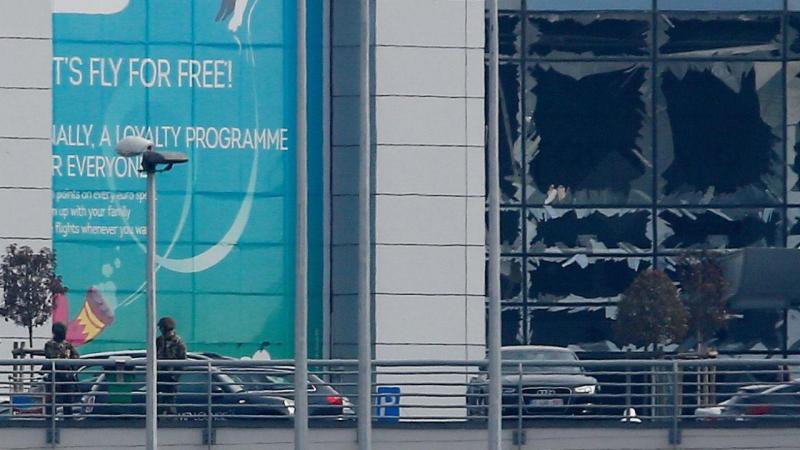 Atentados em Bruxelas (EPA)
