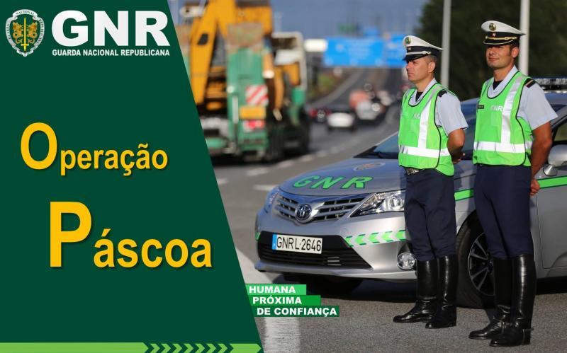 Operação Páscoa da GNR aumenta vigilância das estradas de quinta-feira a domingo