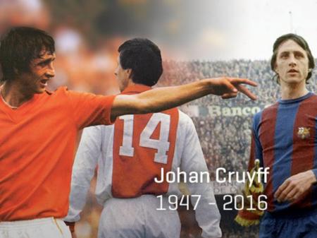 A lenda de Johan Cruijff em imagens