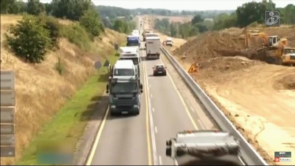 Acidente em França: estrada é das mais concorridas e mortais da Europa