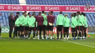 Seleção volta aos treinos após a derrota com a Bulgária