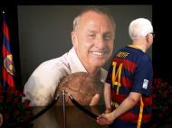 Homenagem a Cruyff em Camp Nou