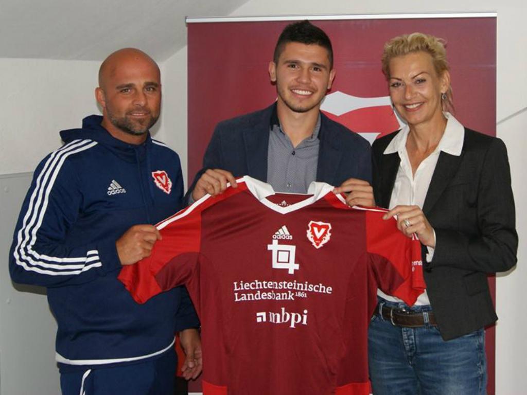 Mauro Caballero (Facebook FC Vaduz)