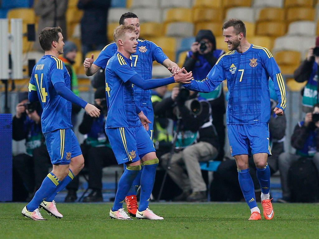 Ucrânia-País de Gales (Reuters)