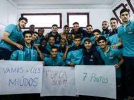 Seleção Olímpica apoia seleção de sub-19