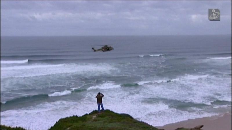 Foz do Arelho: buscas para suspeita de desaparecimento no mar