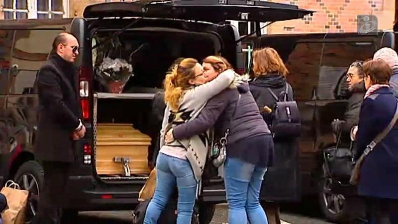 Trasladados corpos de 12 portugueses mortos em França