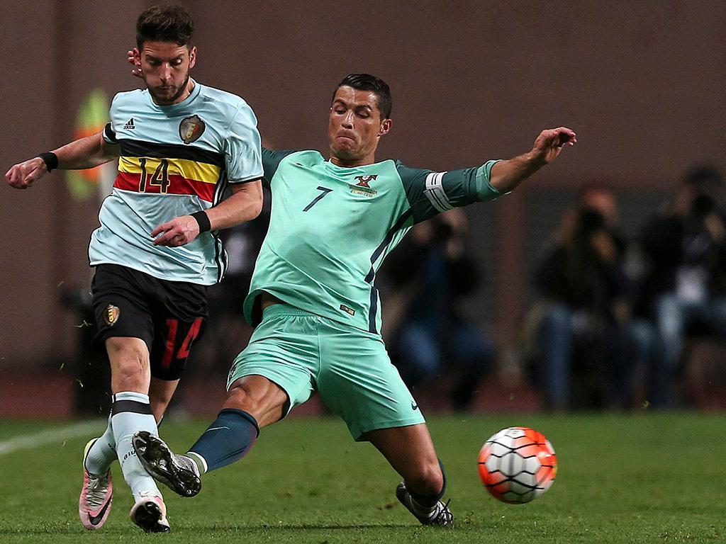 Portugal vs Bélgica (LUSA)