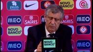 Fernando Santos: «Fiquei com mais algumas dúvidas»