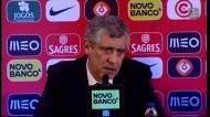 Fernando Santos explica falta de minutos de Ricardo Carvalho